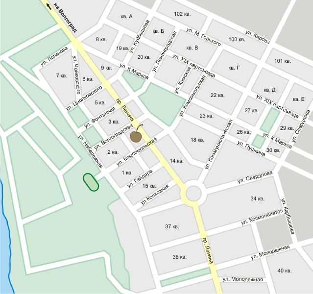Свои люди на карте